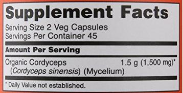 อาหารเสริม เห็ด ยี่ห้อที่ขายดีเป็นอันดับที่ 5 ของอเมริกา ขาย อาหารเสริม เห็ด NOW Cordyceps 750 mg