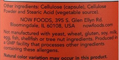 อาหารเสริม เห็ด ยี่ห้อที่ขายดีเป็นอันดับที่ 5 ของอเมริกา  NOW Cordyceps 750 mg