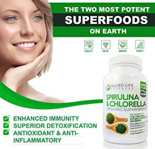 Allied Life Spirulina and Chlorella